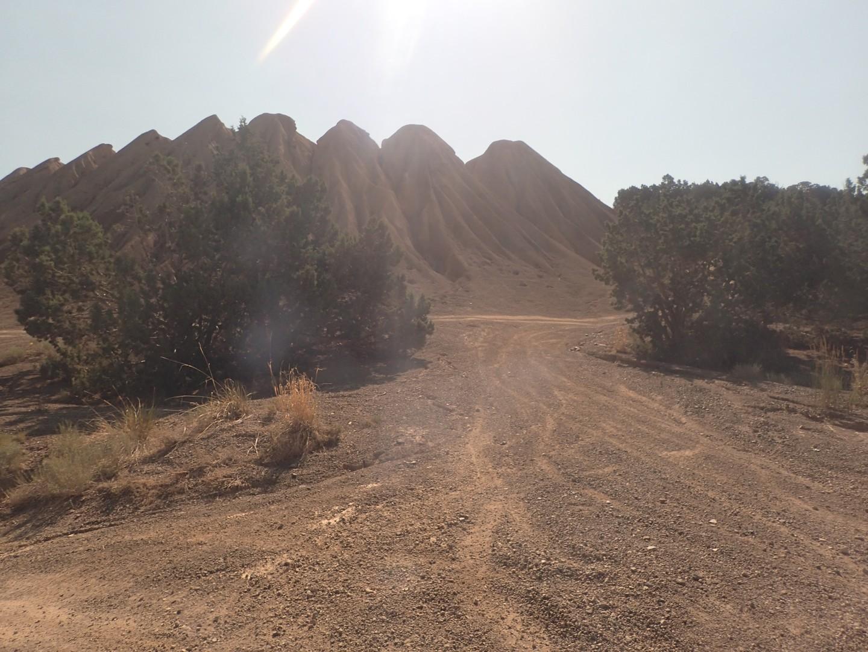 Rattlesnake - Waypoint 16: Mine Tailings Turnoff