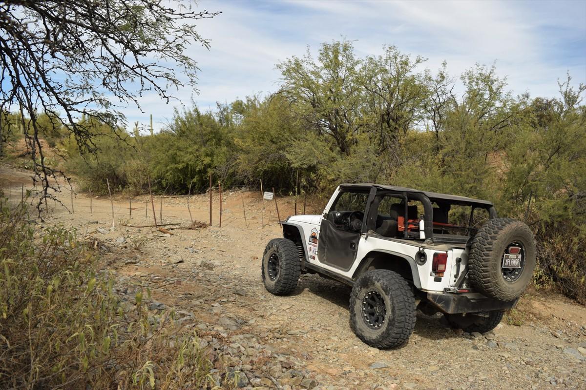 Elvis Trail - Waypoint 8: Cattle Gate / Trail End / Sandman