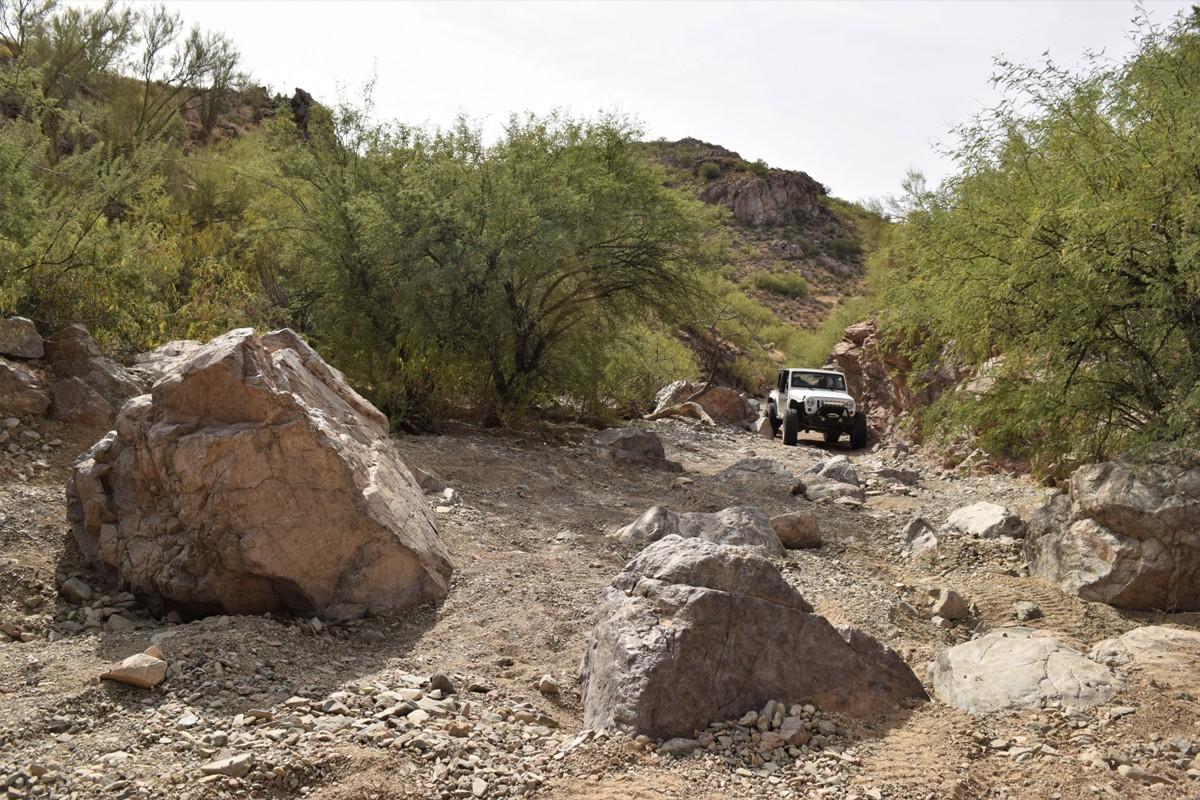 Elvis Trail - Waypoint 5: Boulders