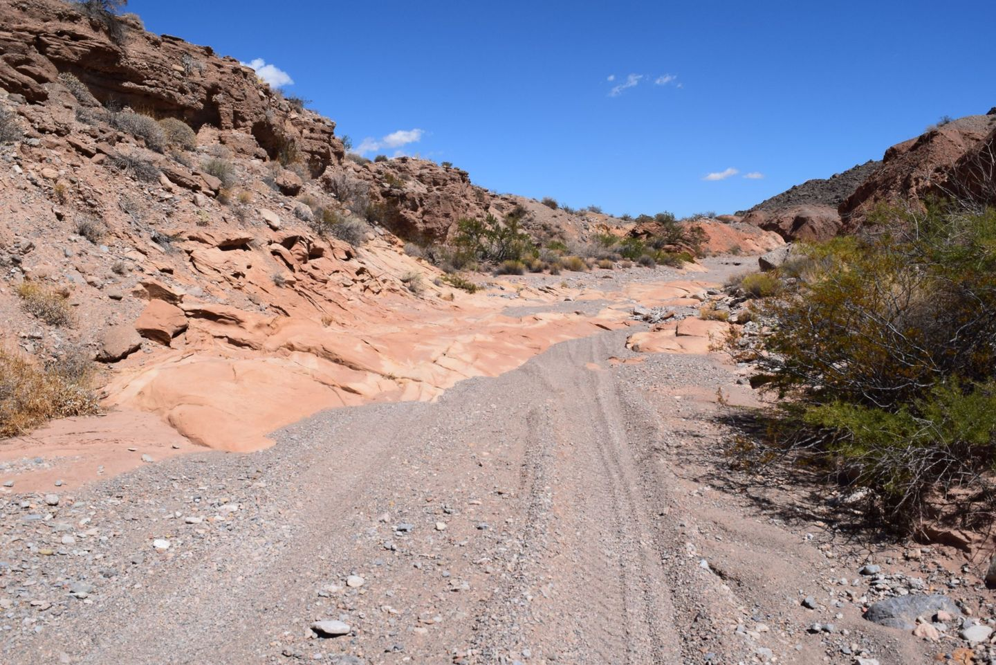 Callville Wash North Trail - Waypoint 6: Small Rock Steps