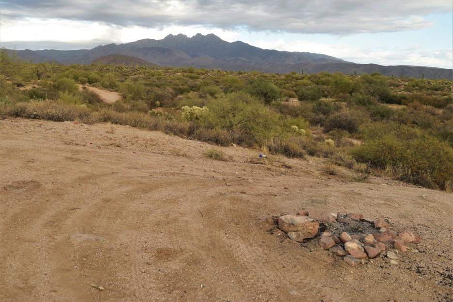 Camping: Rolls OHV FR 1343 Arizona