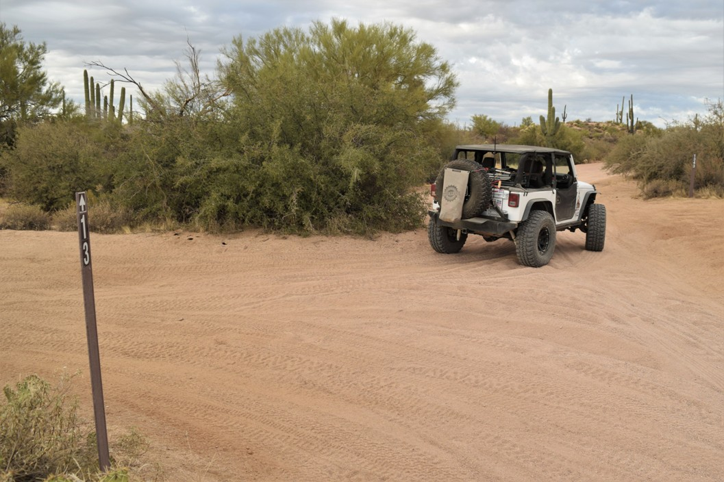 Rolls OHV FR 1343 Arizona - Waypoint 3: Trail Junction / FR13