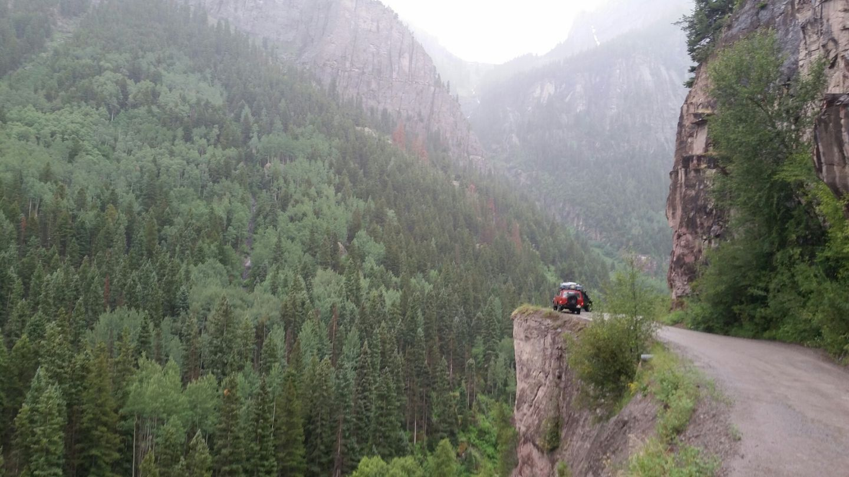 Yankee Boy Basin - Waypoint 3: Cliff-Top Overlook