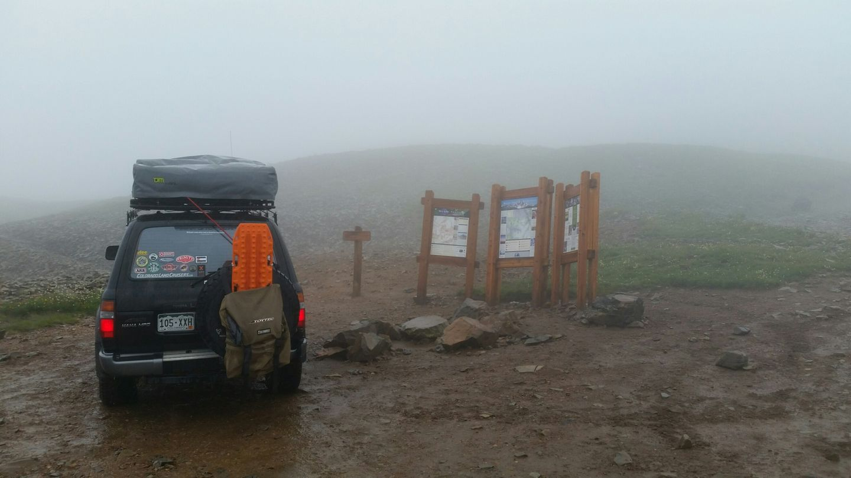 Yankee Boy Basin - Waypoint 12: End of Trail