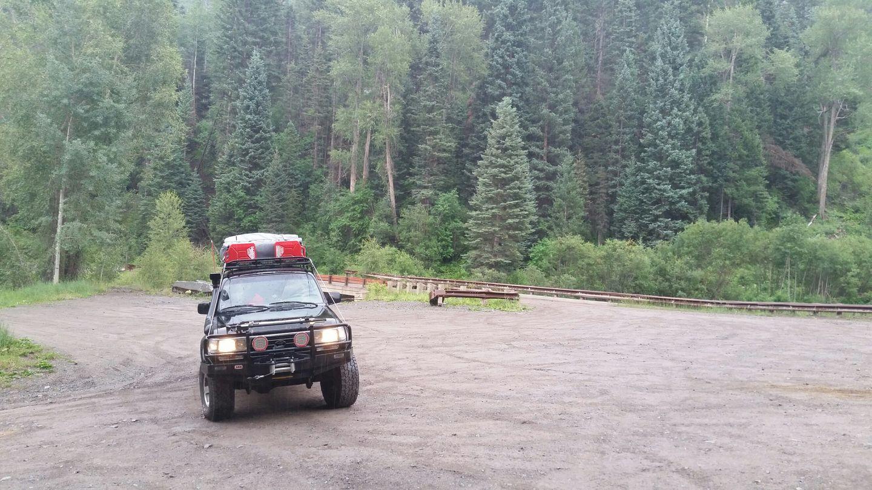 Yankee Boy Basin - Waypoint 2: Angel Creek Campground