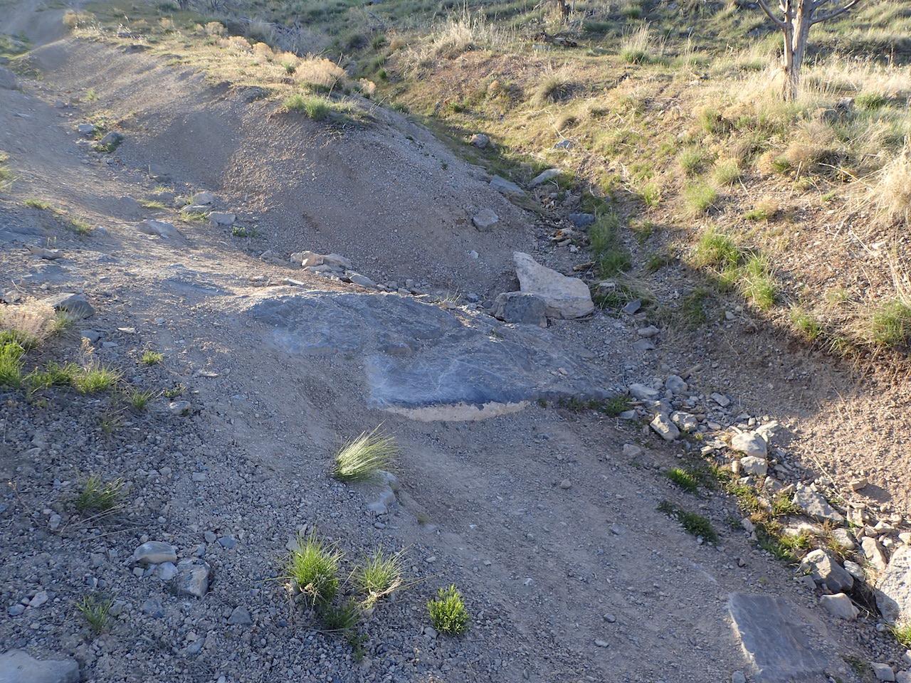 Sidewinder Exit - Waypoint 2: Rock in Wash