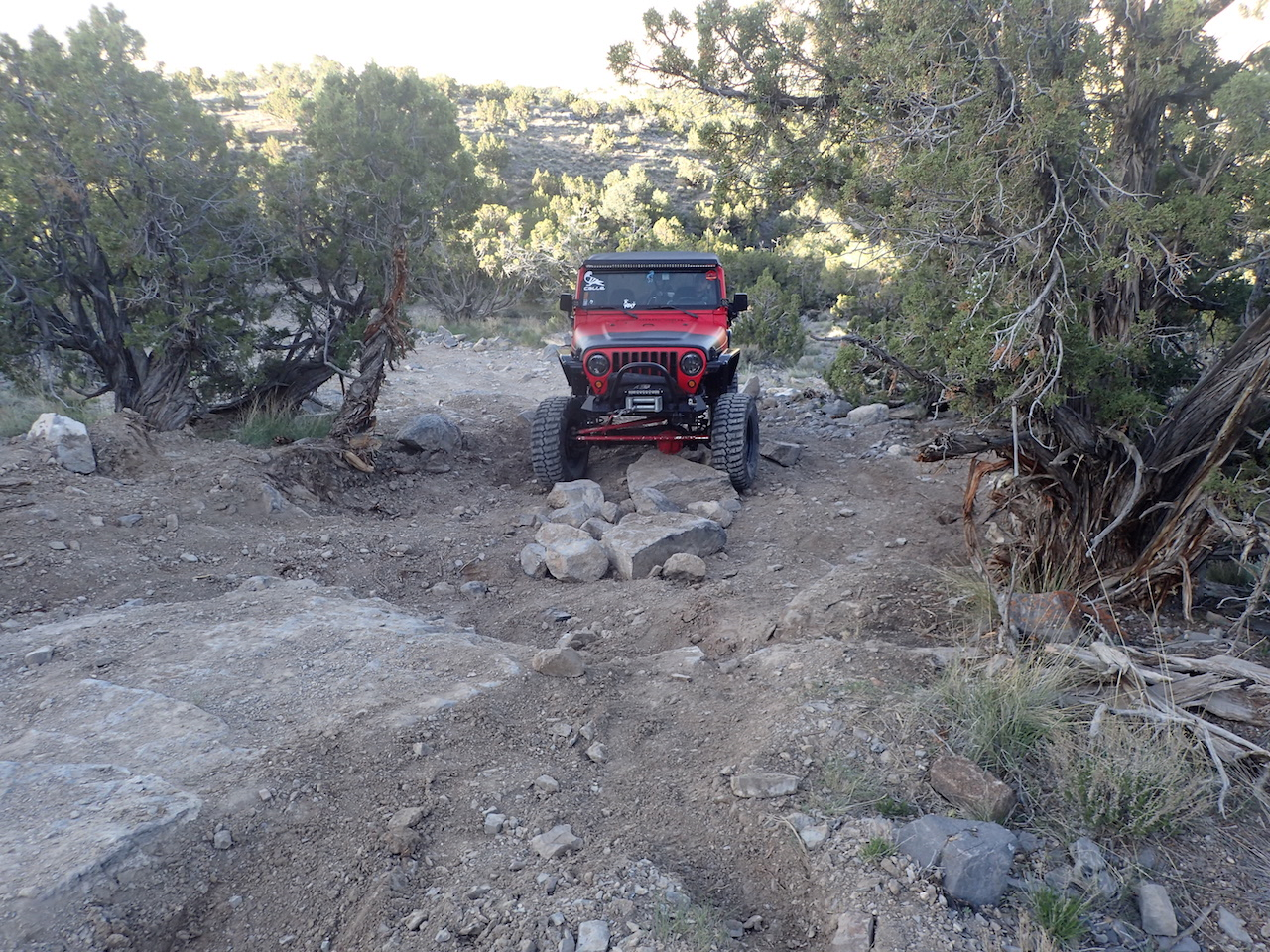 Sidewinder Exit - Waypoint 6: Big Rock In Middle