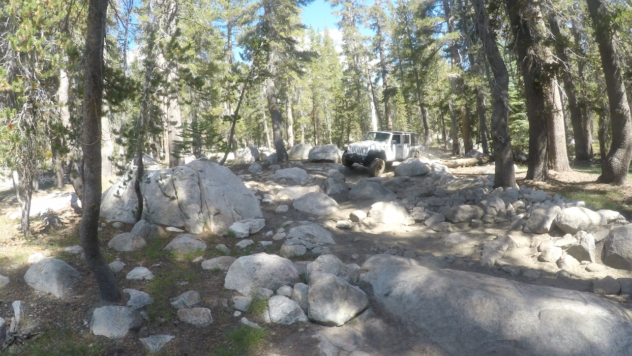26E213 - Coyote Lake Trail - Waypoint 7: Rock Garden 2