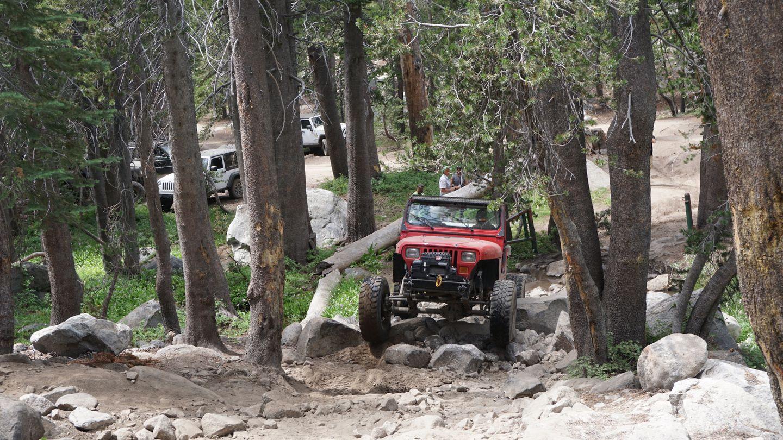 26E213 - Coyote Lake Trail - Waypoint 1: Coyote Lake Trailhead
