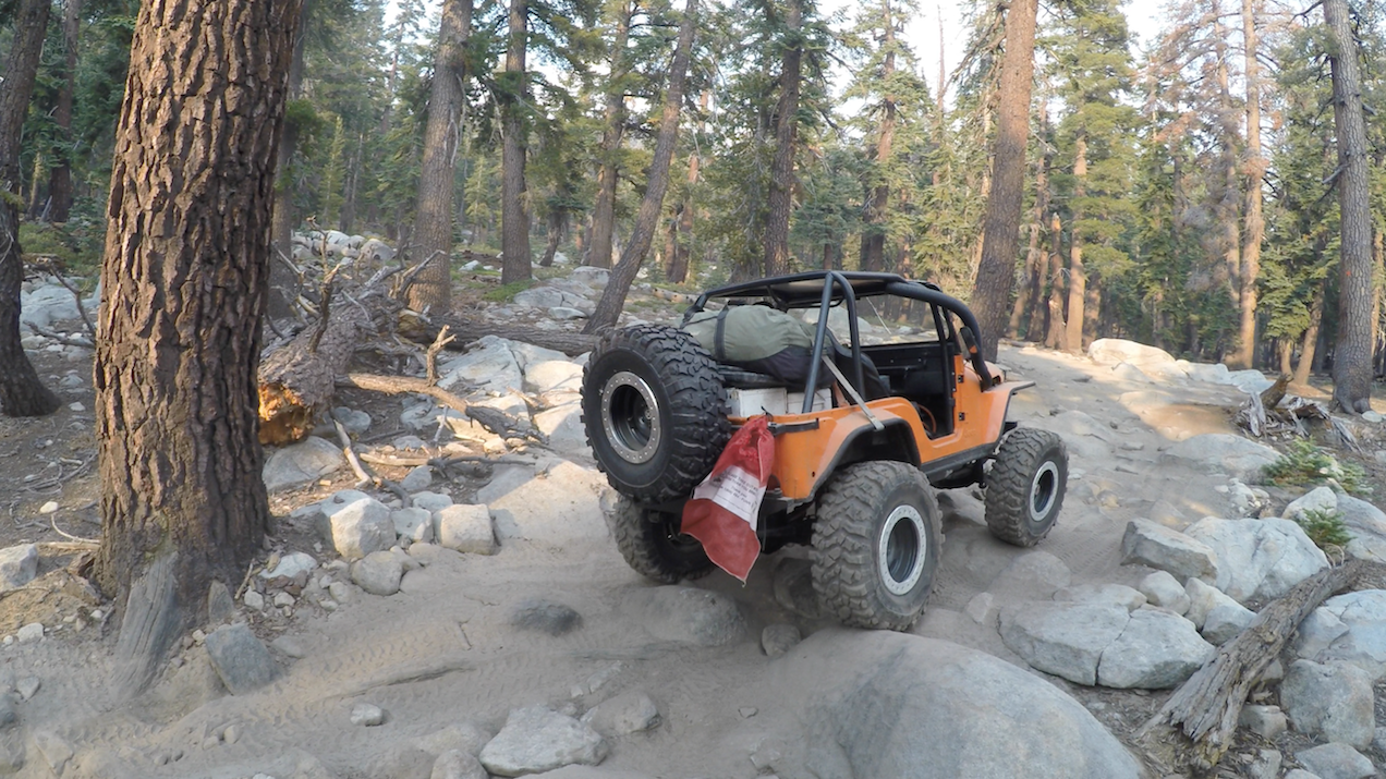 26E212 - Red Lake Trail - Waypoint 6: Rock Garden