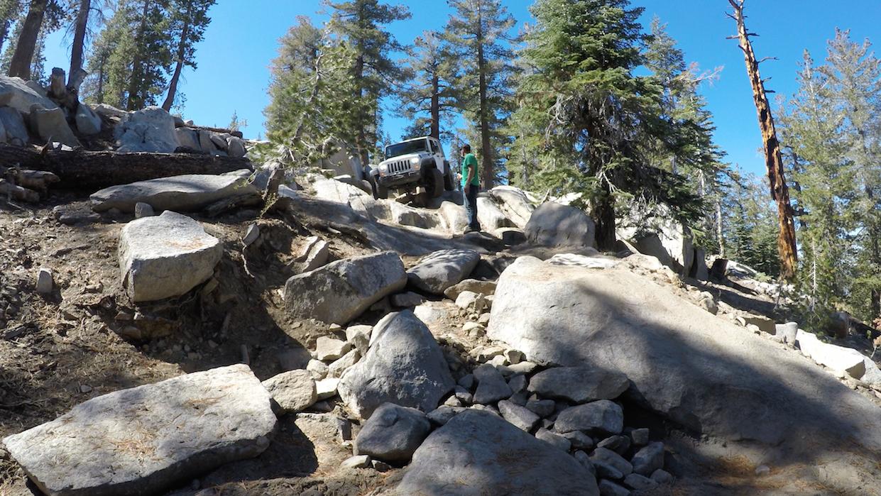26E216 - Mirror Lake Trail - Waypoint 6: Winch Hill Start