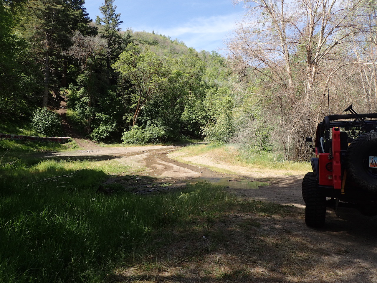 Butterfield Canyon - Waypoint 3: Seasonal Stream Pullout