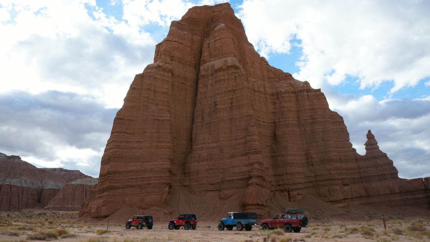 Cathedral Valley Loop - Waypoint 21: Temple of the Moon