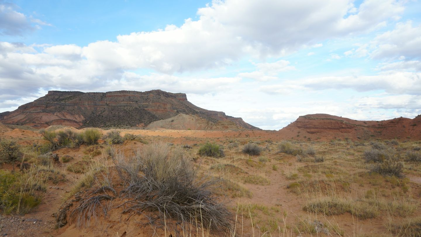 Cathedral Valley Loop - Waypoint 18: Park Boundary