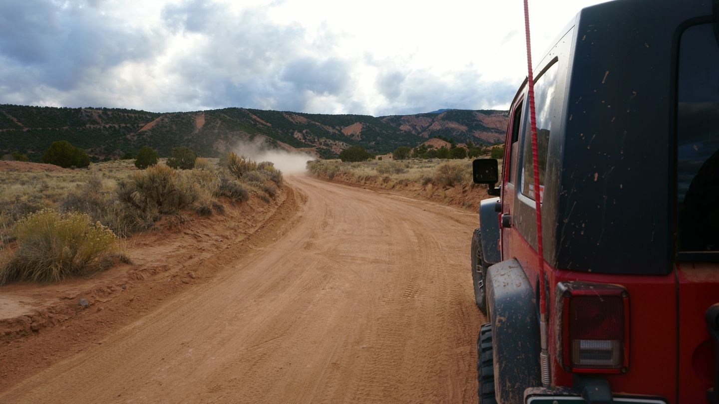 Cathedral Valley Loop - Waypoint 13: Morrell Cabin