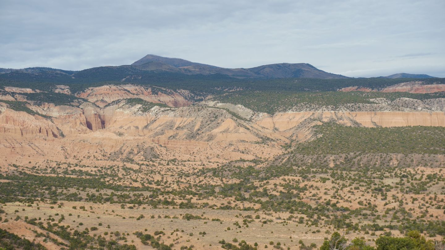 Cathedral Valley Loop - Waypoint 10: Upper Cathedral Valley Overlook