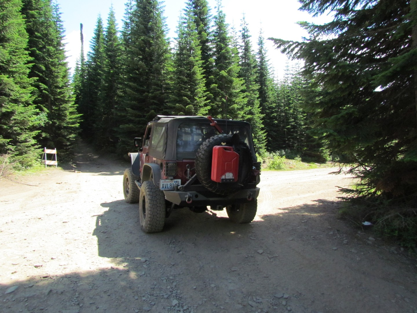 Naches Trail - Waypoint 11: Trail intersection