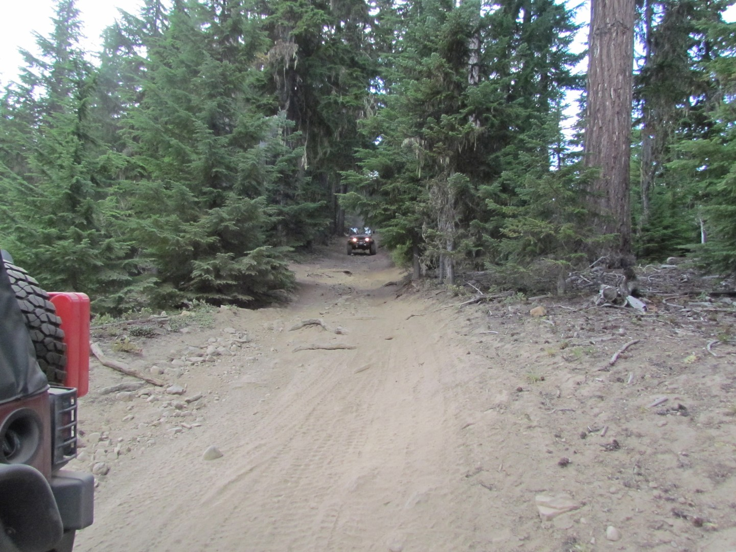 Naches Trail - Waypoint 17: Trail intersection