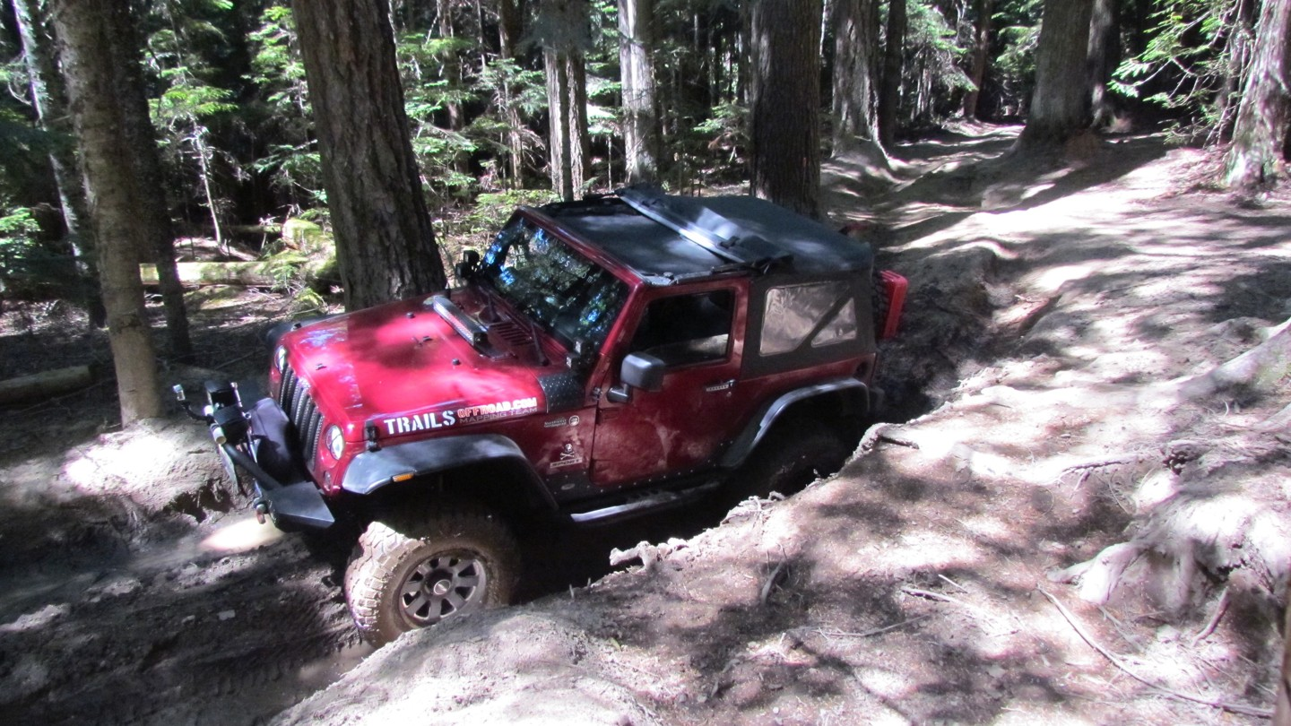 Naches Trail - Waypoint 4: Mud Hole - Straight