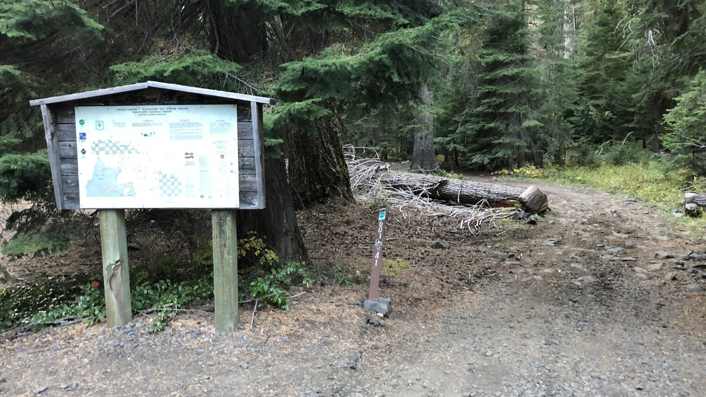 Naches Trail - Waypoint 23: Trail End