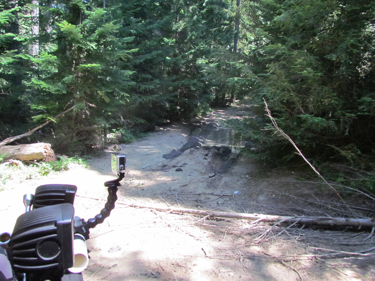 Naches Trail - Waypoint 3: Trail intersection