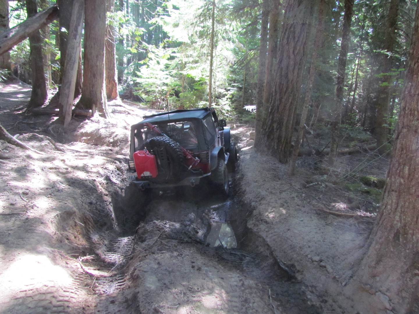 Naches Trail - Waypoint 4: Mud Hole