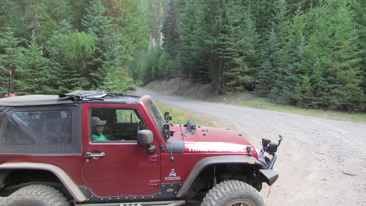 Naches Trail - Waypoint 20: Trail Intersection - Turn Left
