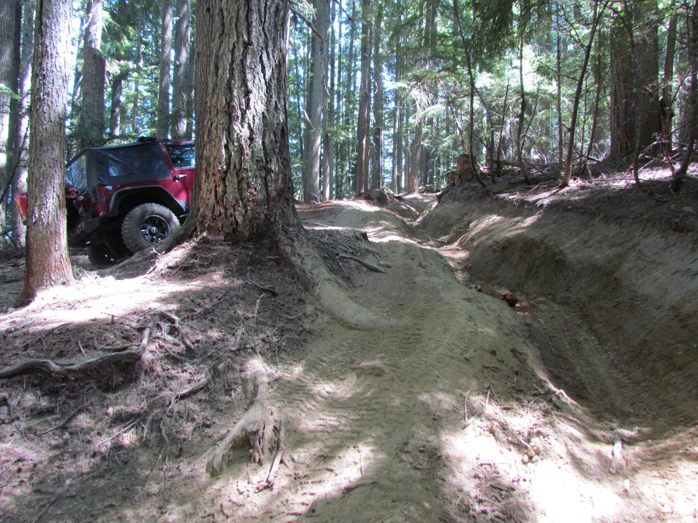 Naches Trail - Waypoint 2: Ditch Obsticle