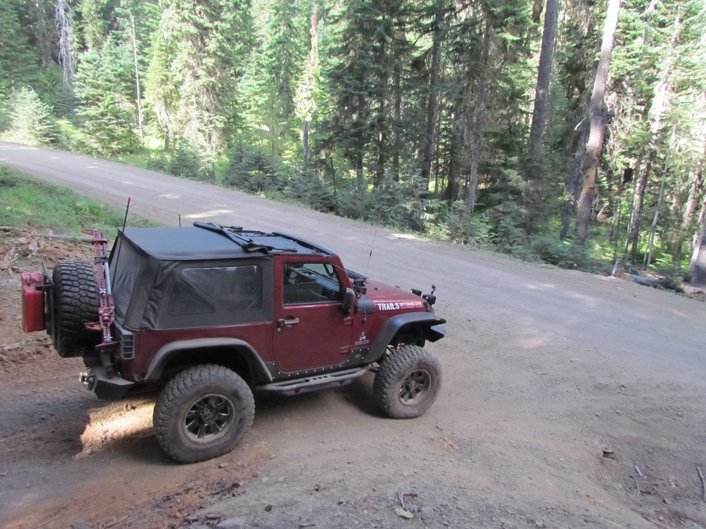 Naches Trail - Waypoint 15: Trail intersection