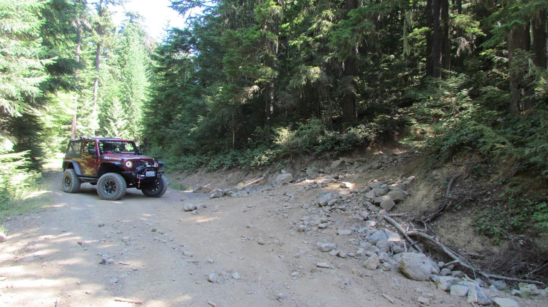 Naches Trail - Waypoint 1: Startpoint 1
