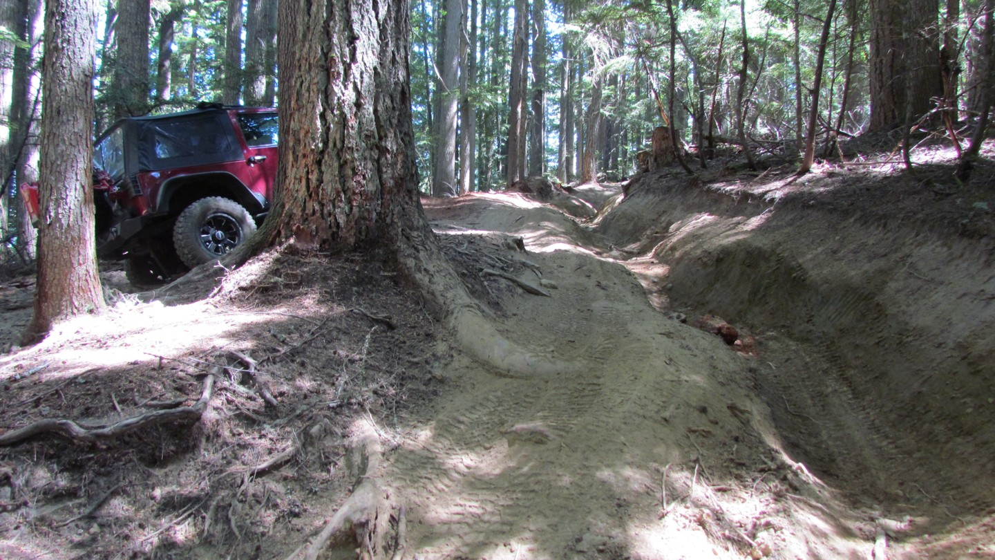 Naches Trail - Waypoint 2: Ditch Obsticle - Straight
