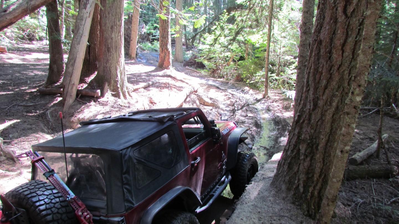 Naches Trail - Waypoint 4: Mud Hole - Straight