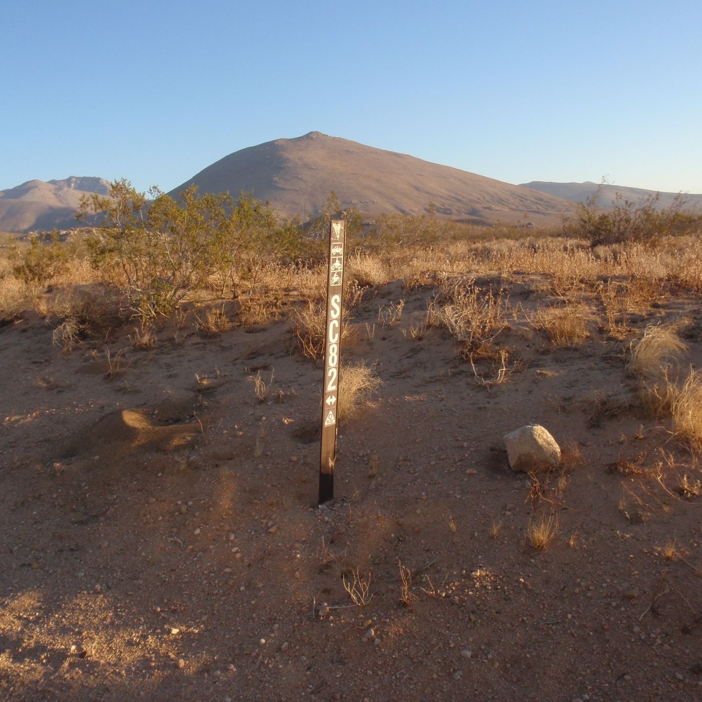 SC65 - McIvers Cabin - Waypoint 7: Intersection with SC82