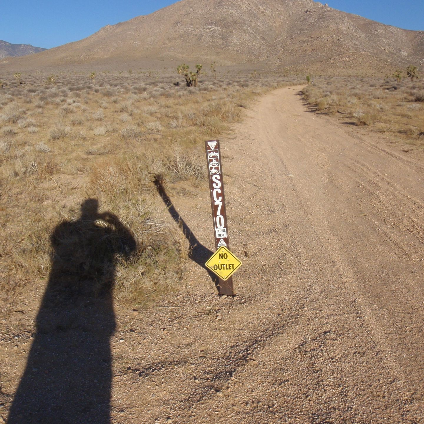 SC65 - McIvers Cabin - Waypoint 9: Intersection with SC70