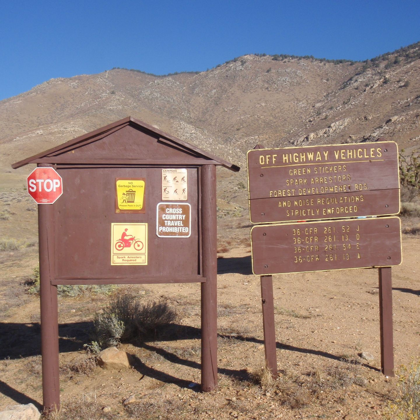 SC65 - McIvers Cabin - Waypoint 11: Intersection with 27S11