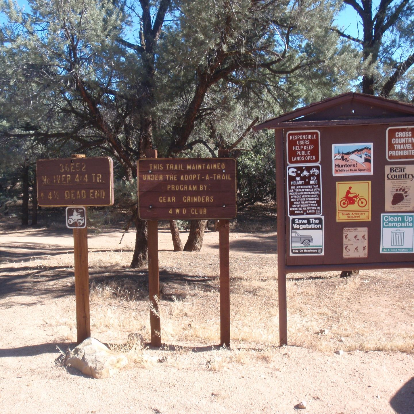 SC65 - McIvers Cabin - Waypoint 12: Intersection with 36E52