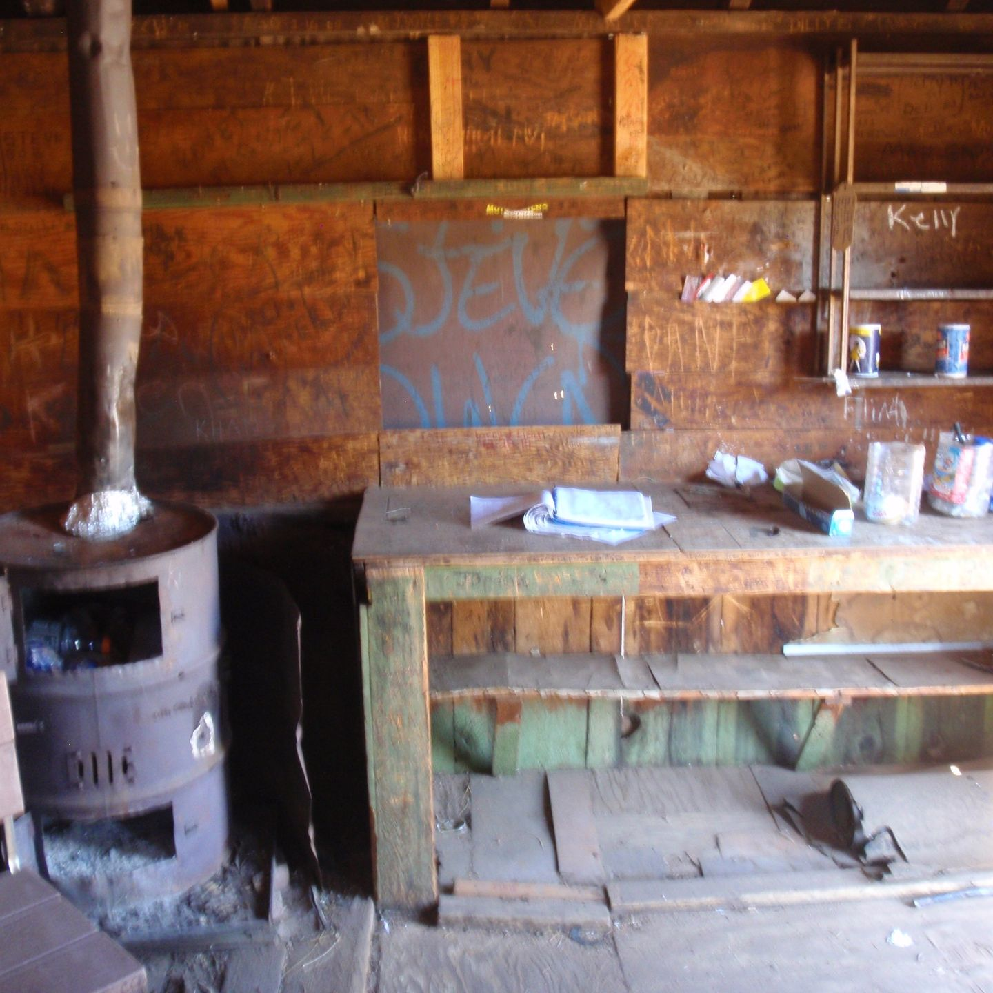 SC65 - McIvers Cabin - Waypoint 14: McIvers Cabin