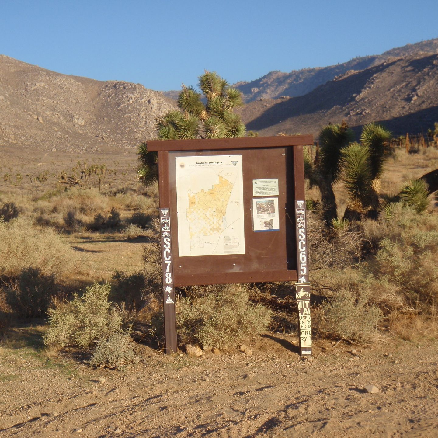 SC65 - McIvers Cabin - Waypoint 8: Intersection with SC78