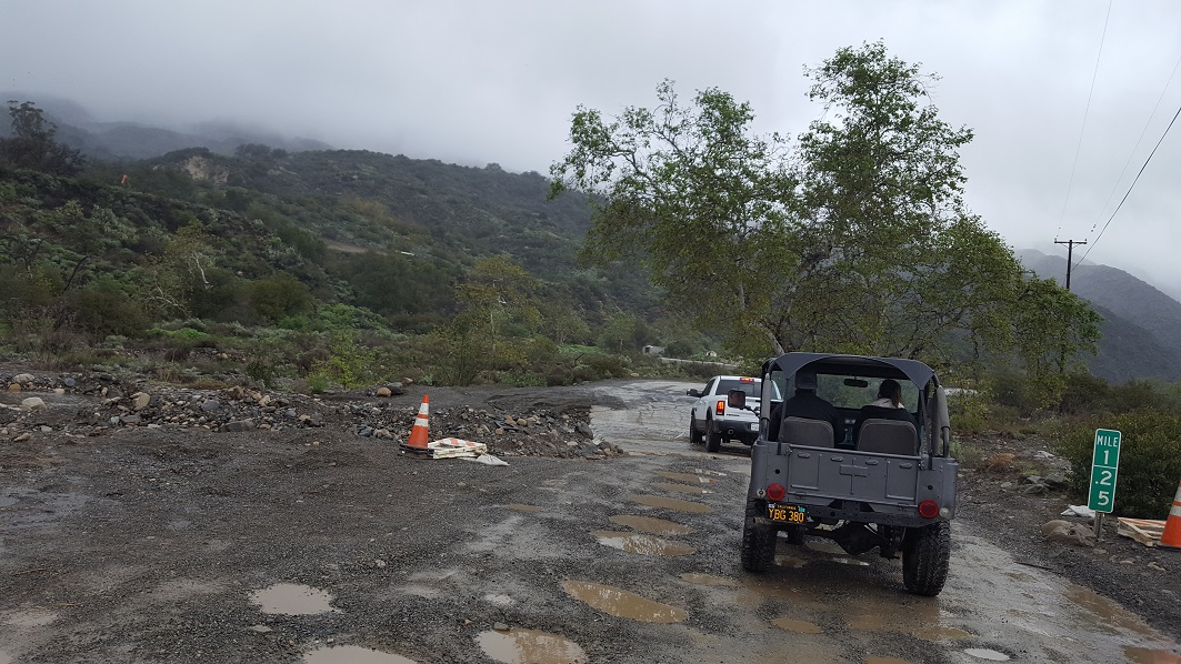 Trabuco Canyon - AKA Holy Jim Canyon - Waypoint 3: Possible Water Crossing