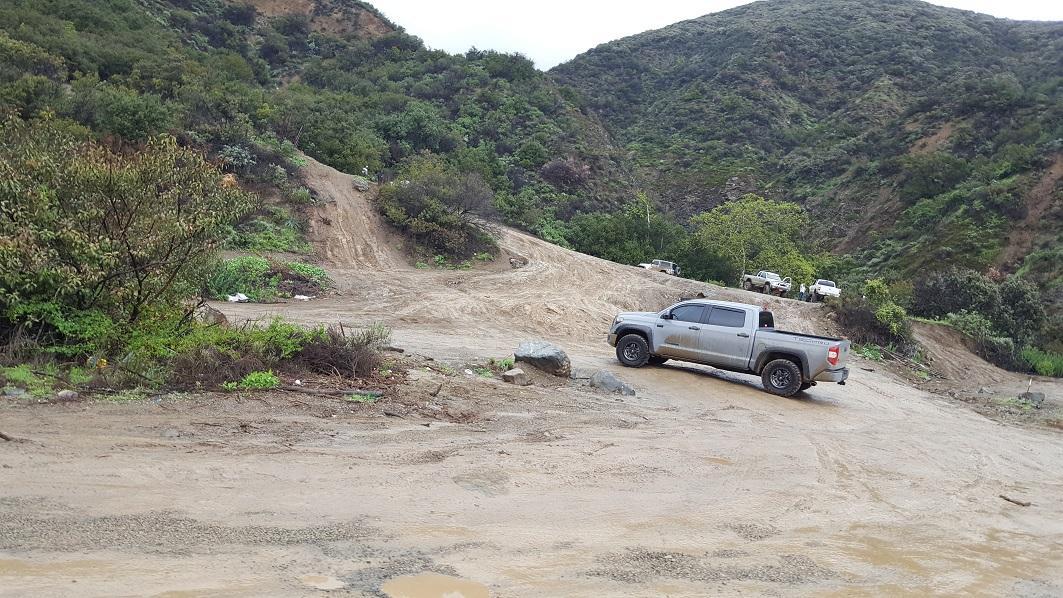Trabuco Canyon - AKA Holy Jim Canyon - Waypoint 5: Trailhead - Trabuco Creek Road To The North (Closed)