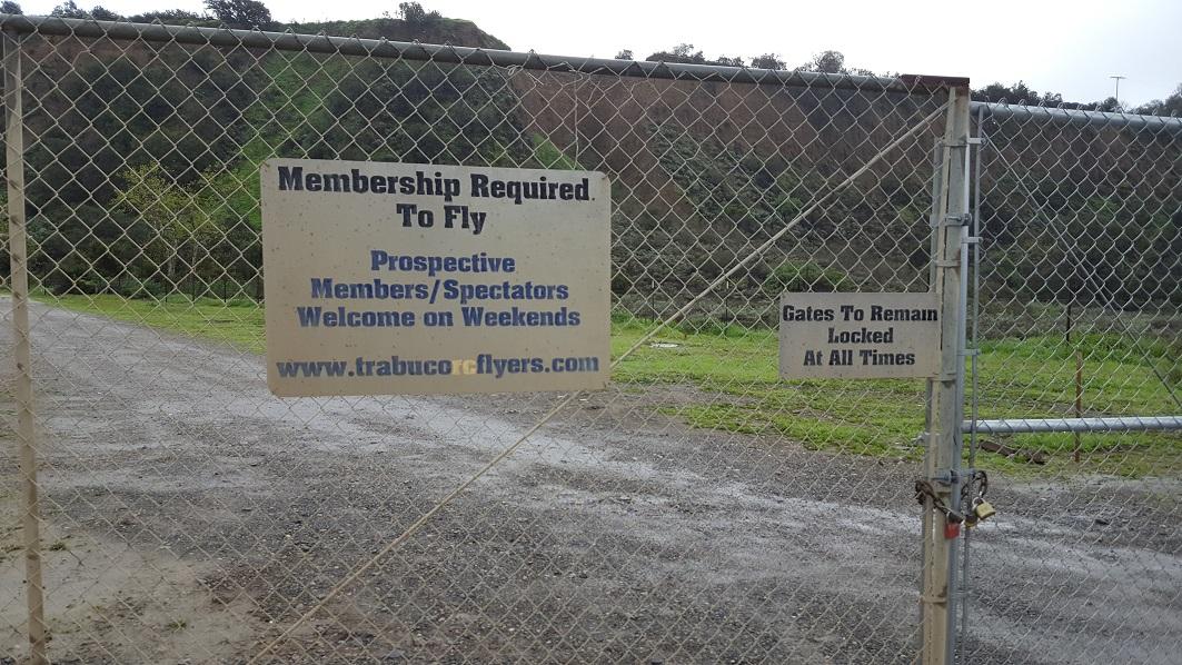 Trabuco Canyon - AKA Holy Jim Canyon - Waypoint 2: RC Airport