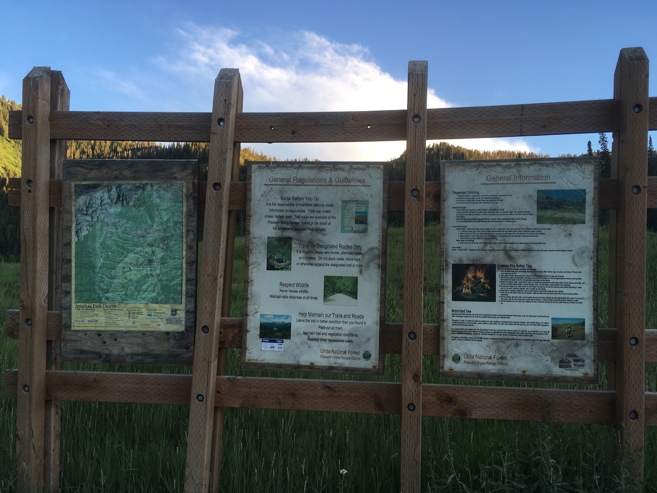 Forest Lake - Waypoint 9: Second Informational Board