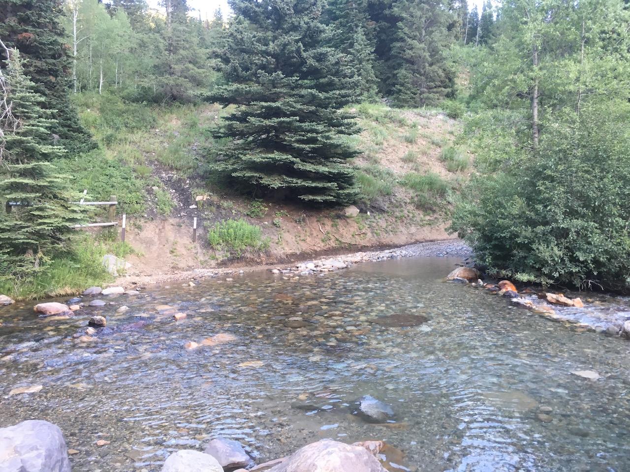 Forest Lake - Waypoint 1: Trailhead