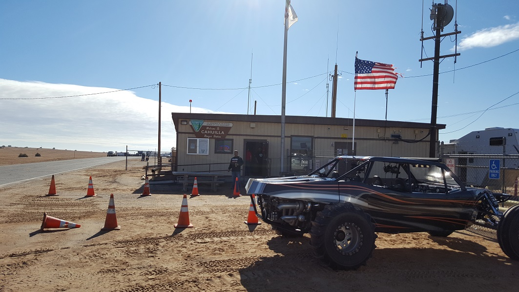 Imperial Sand Dunes Recreation Area - Glamis - Waypoint 2: Ranger Station