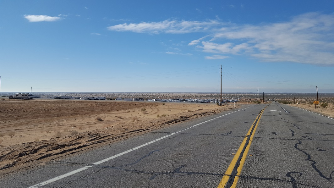 Imperial Sand Dunes Recreation Area - Glamis - Waypoint 1: Gecko Road