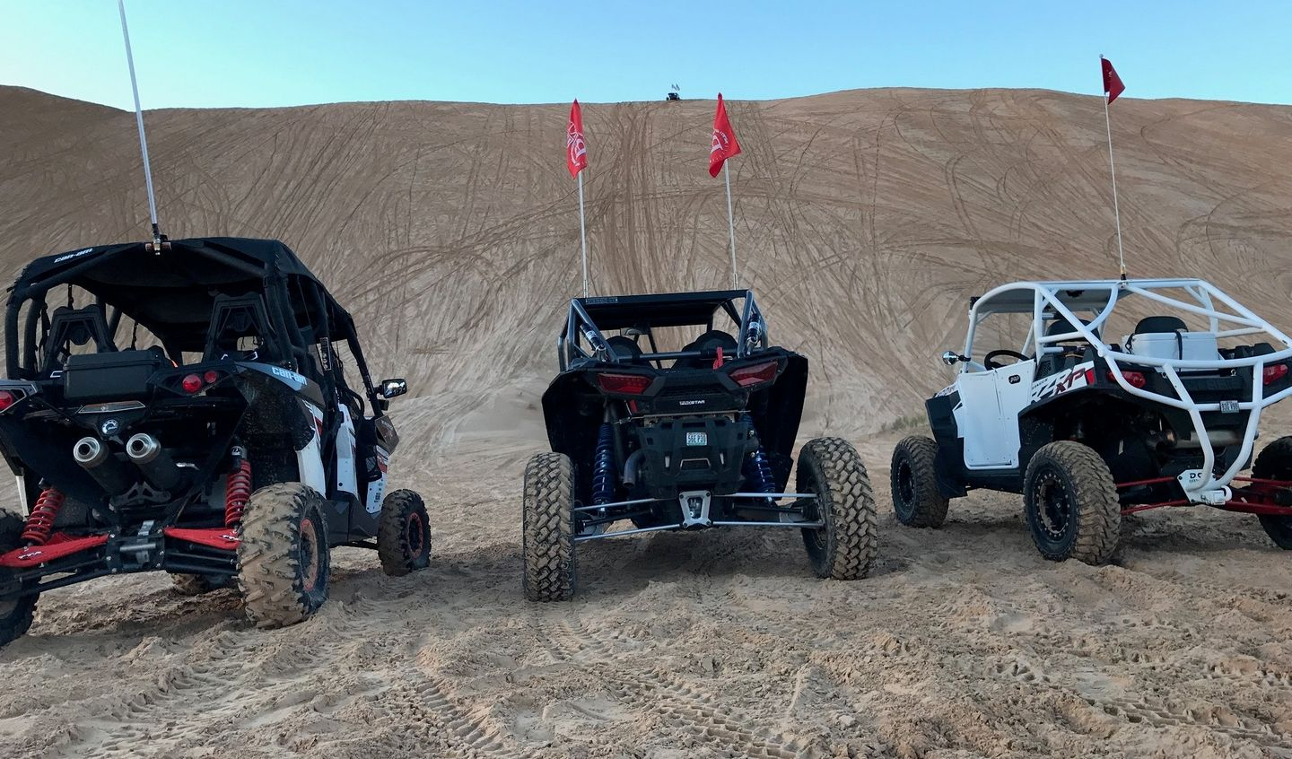 Imperial Sand Dunes Recreation Area - Glamis - Waypoint 11: China Wall