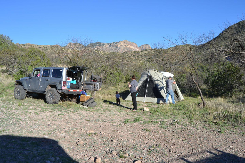 Camping: Jackson Cabin/Muleshoe Ranch Road FR #691, Arizona