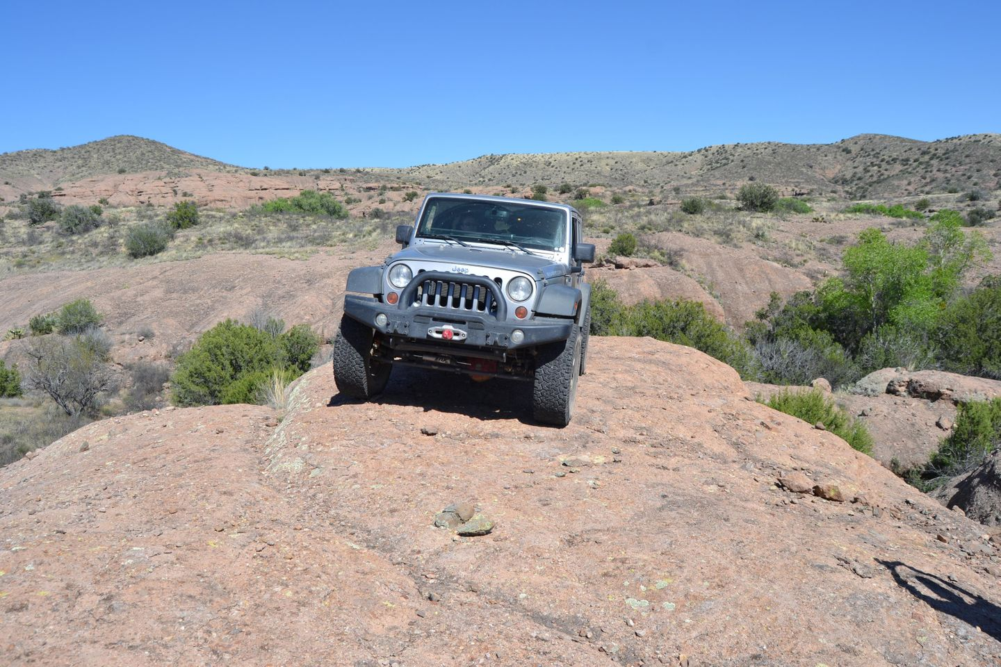 Jackson Cabin/Muleshoe Ranch Road - Waypoint 8: Rig Rock -  Public Land