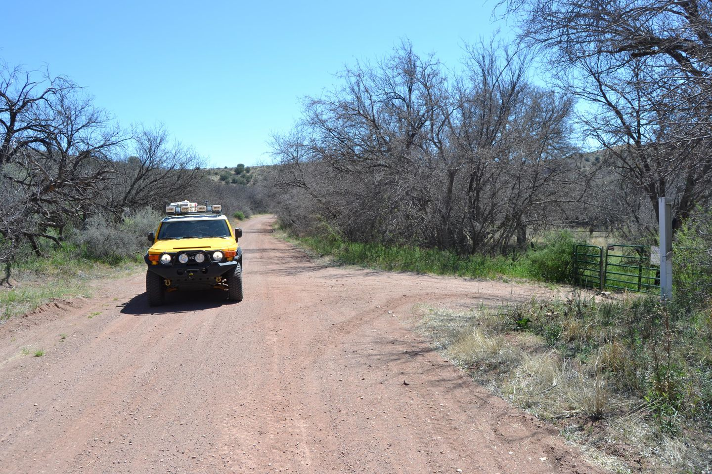 Jackson Cabin/Muleshoe Ranch Road - Waypoint 4: Hooker Hot Springs - Muleshoe Headquarters (Closed)