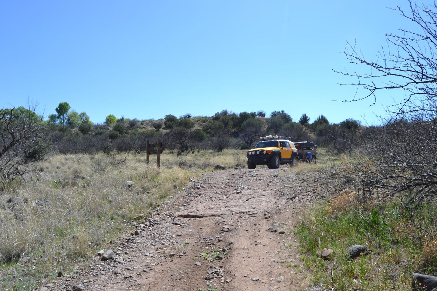 Jackson Cabin/Muleshoe Ranch Road - Waypoint 7: Bass Canyon - Cabin/Riparian Area  15.0